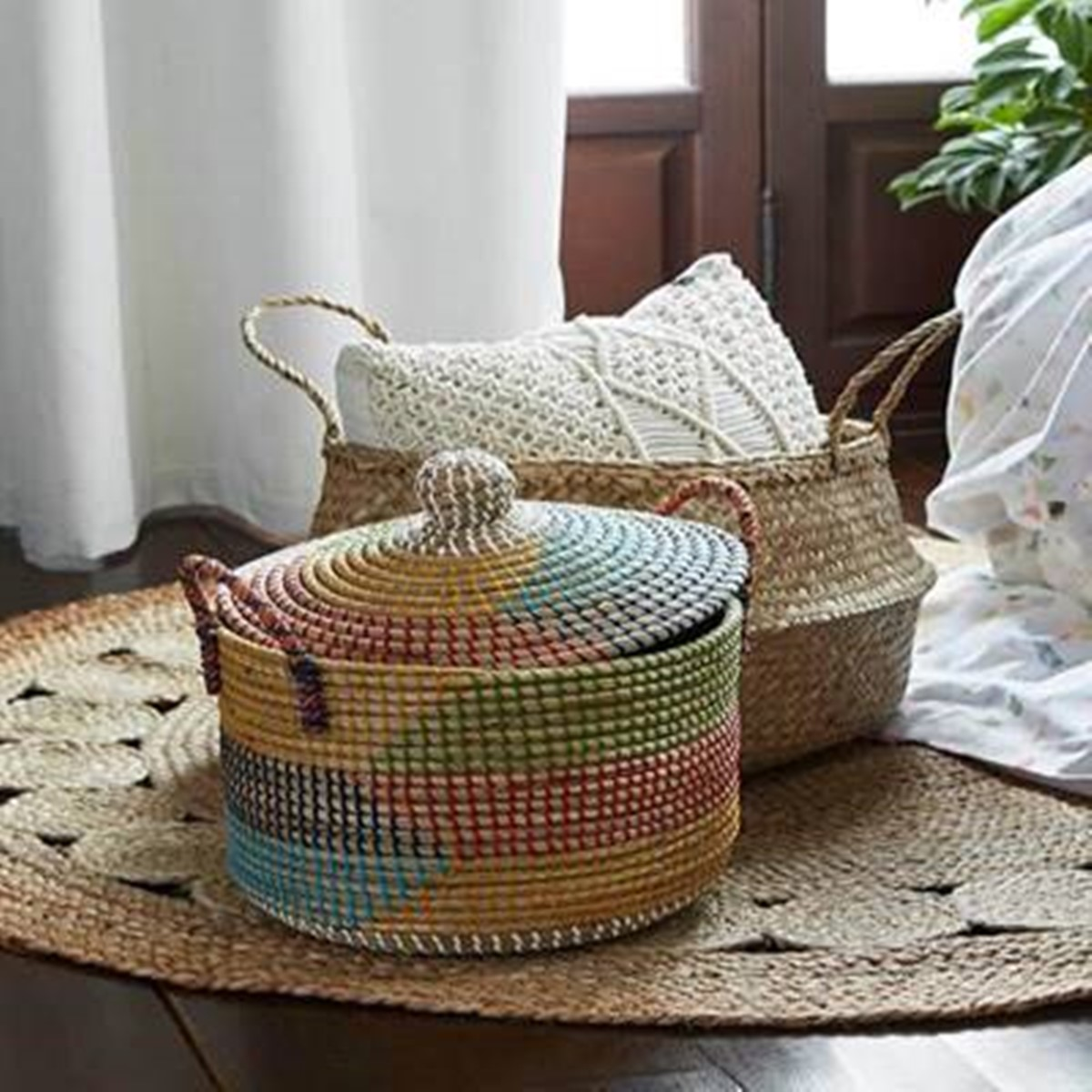 Handi-crafted products made of natural materials can make a great business