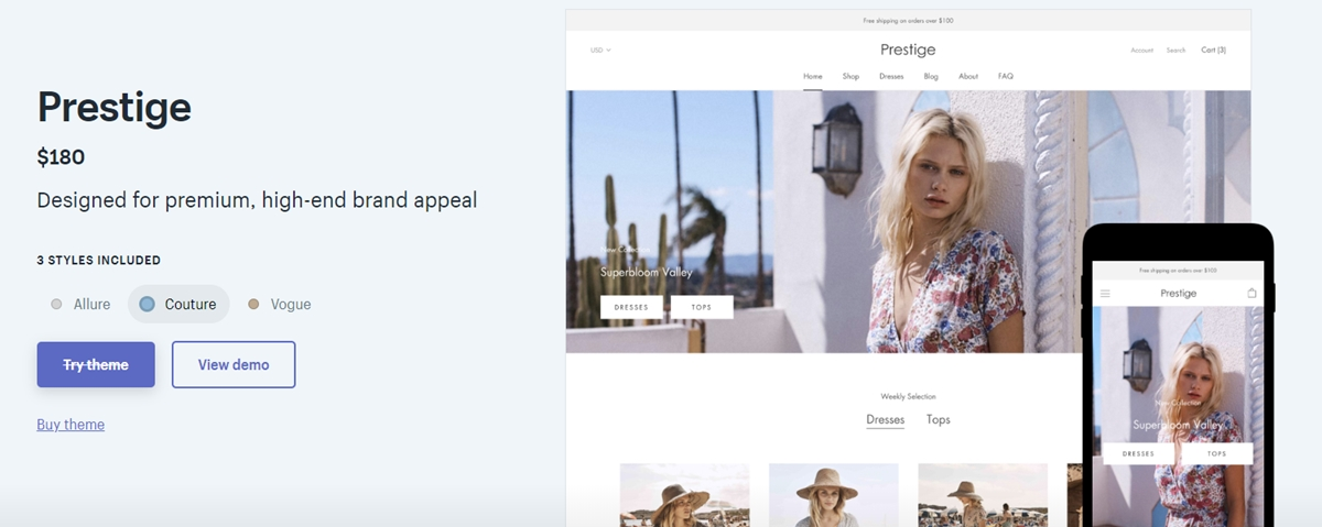 Shopify Prestige Theme Review: Is It Worth Your Money?