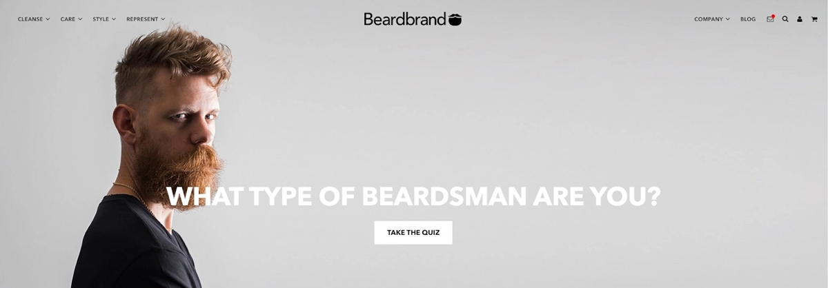 Beardbrand promotes content with communities