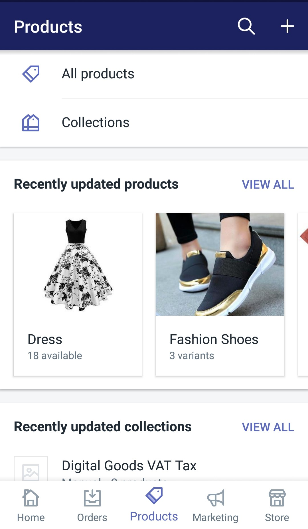 Change the List of Locations that stock a product