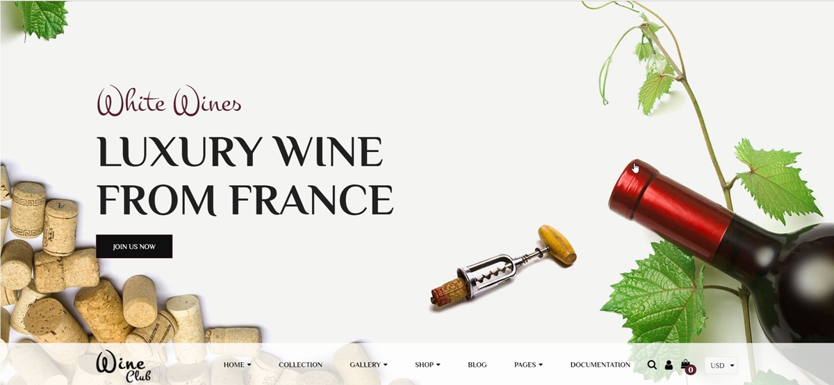 Shopify Wine Store Themes