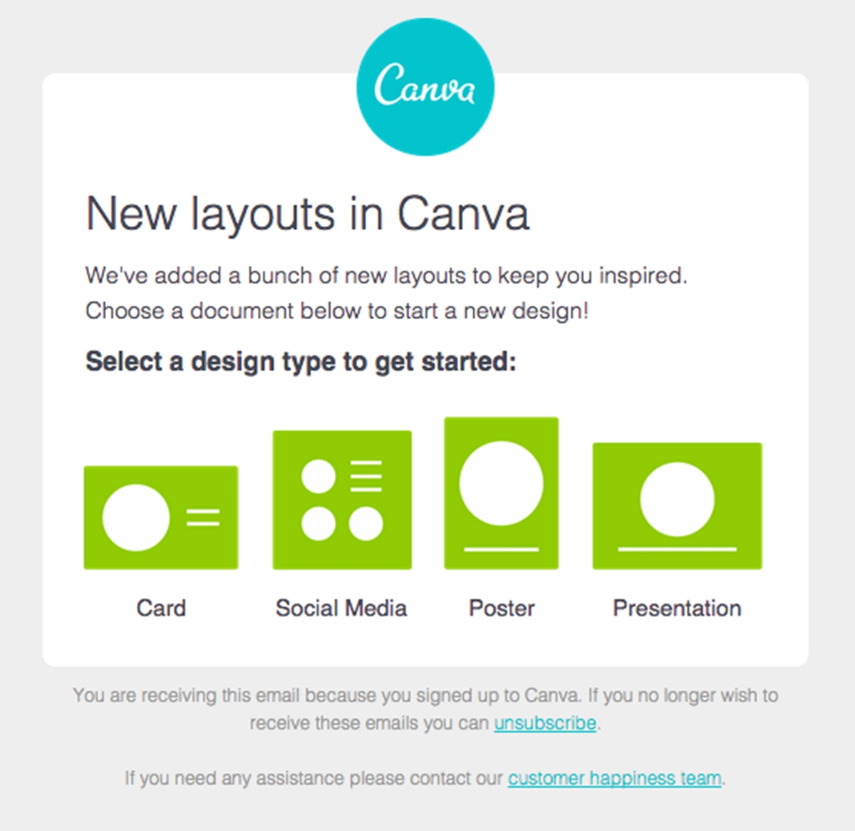 Canva emails