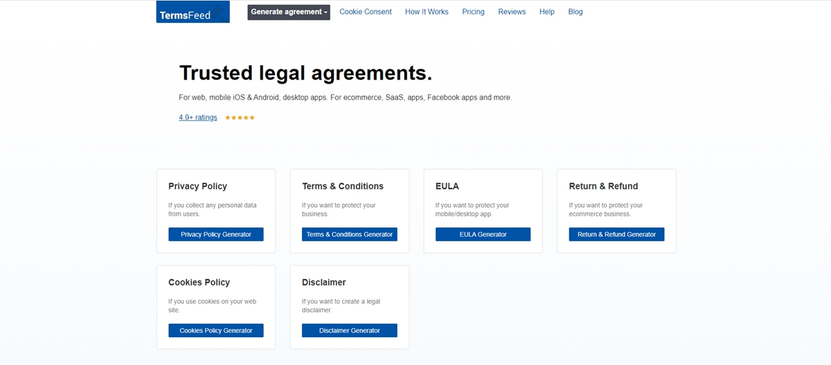 Terms of Services samples by Termsfeed