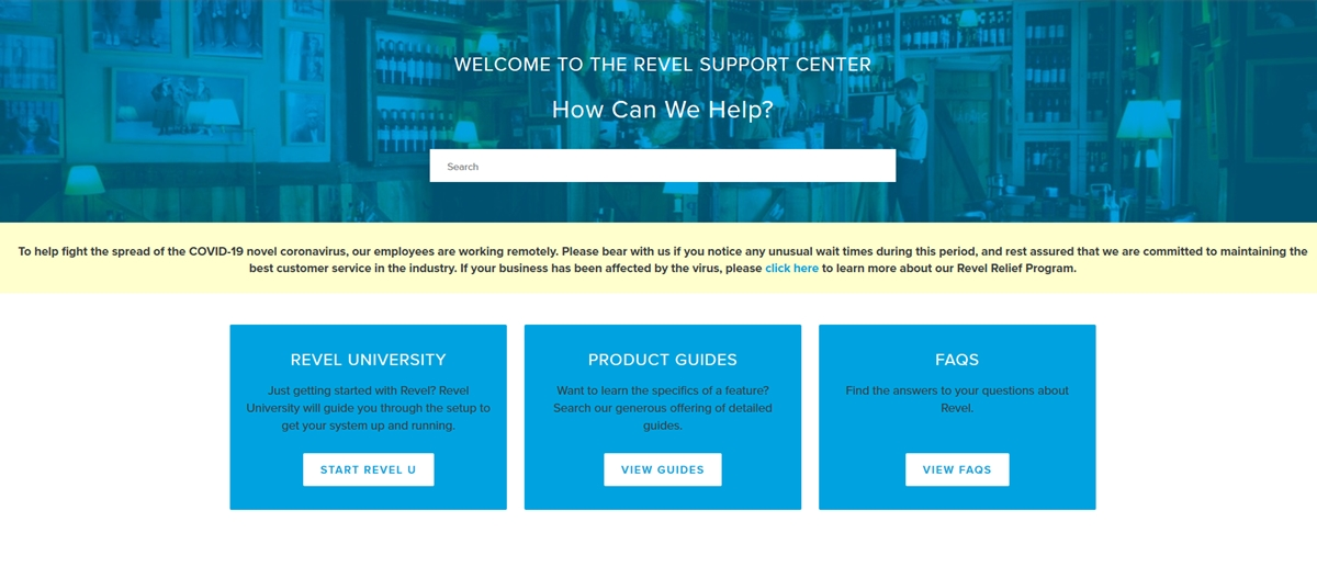 Revel POS customers support review