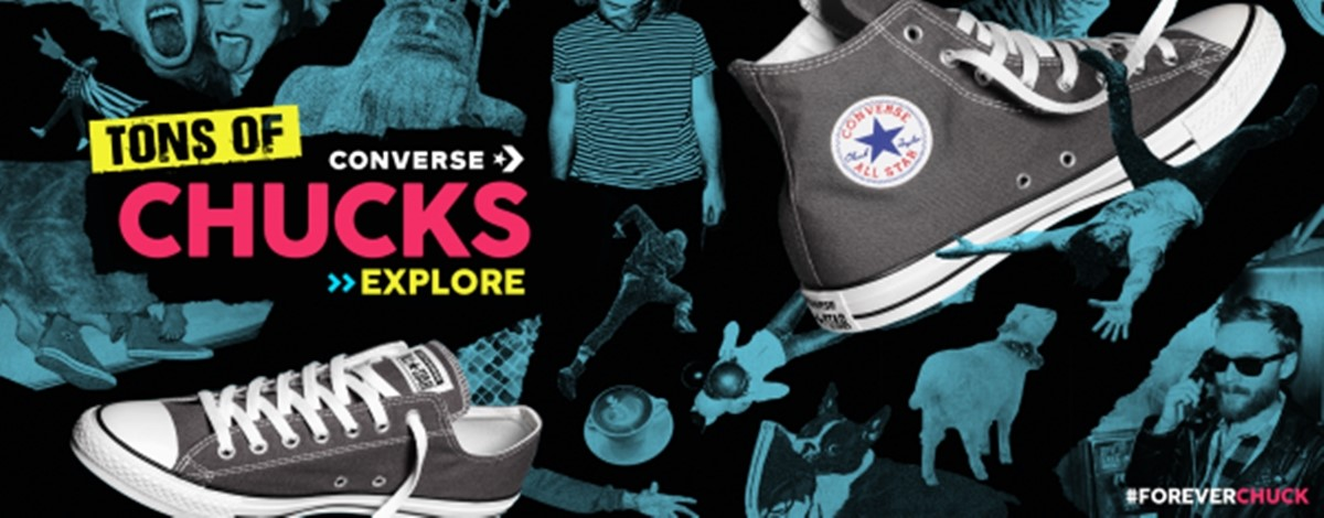 Converse Promotion Banner