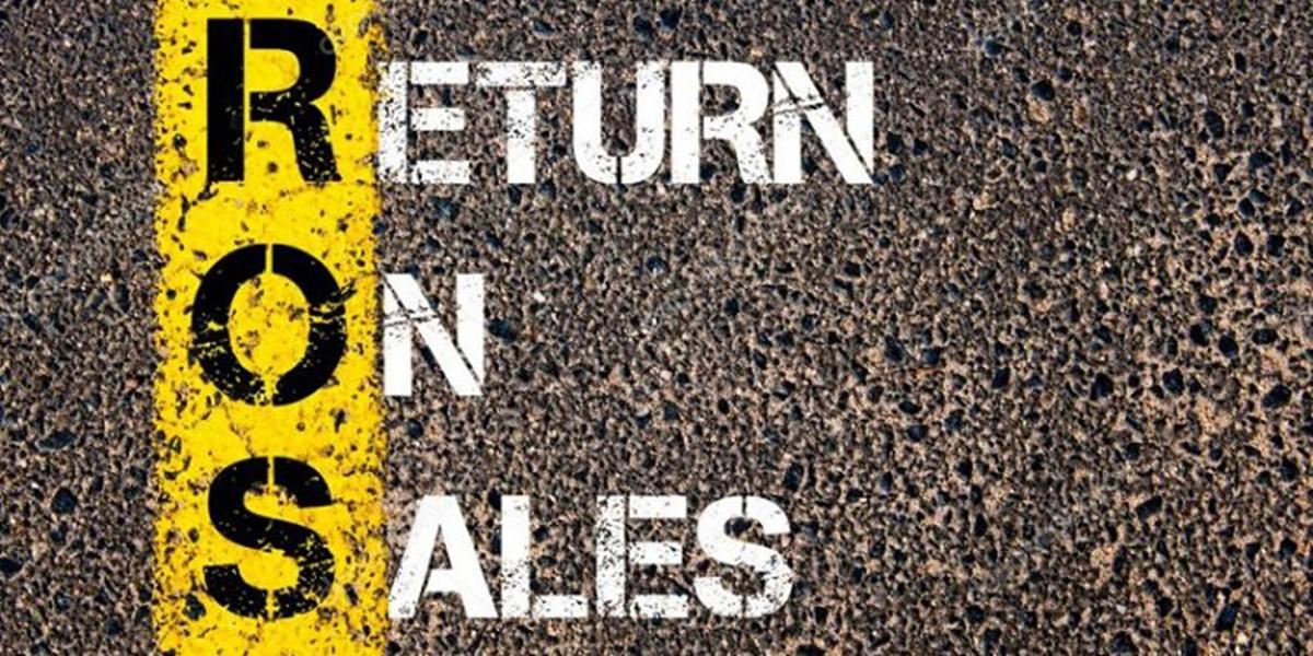 What is return on sales (ROS)?