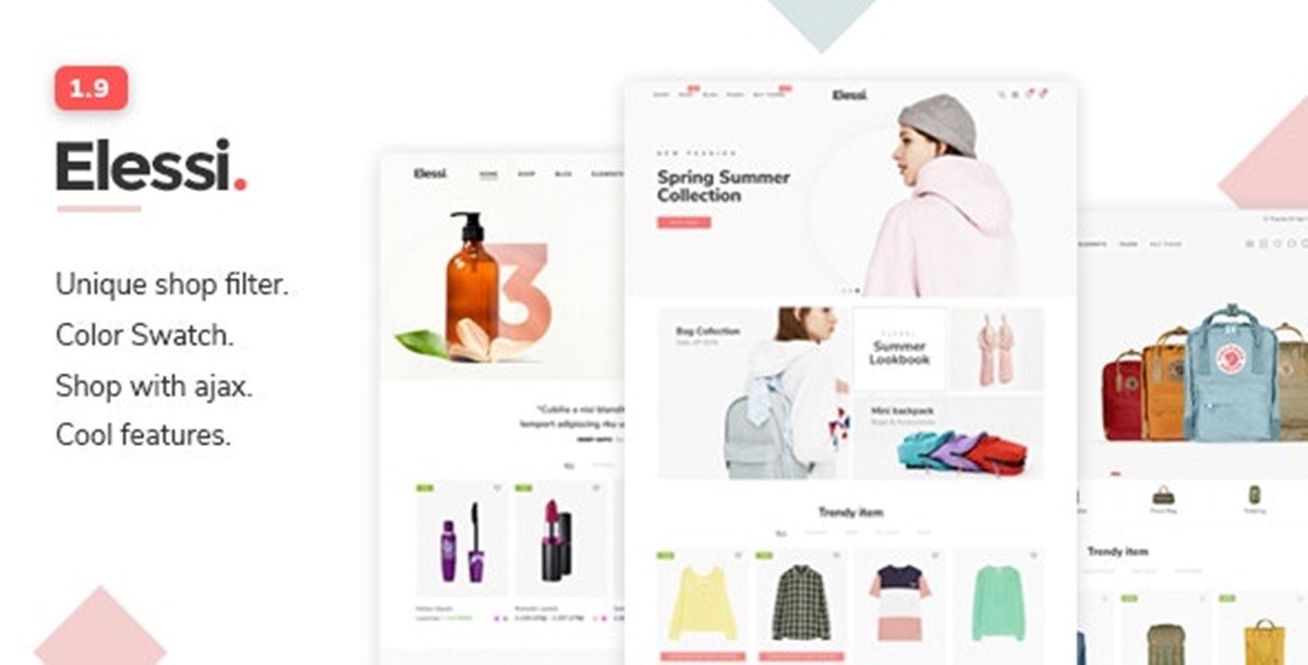 Best Shopify Bootstrap themes Compatible with Bootstrap 4.x: Elessi theme