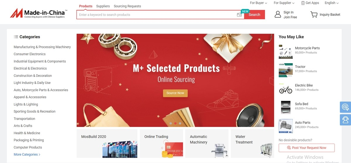 Made-in-china.com China Wholesale Websites