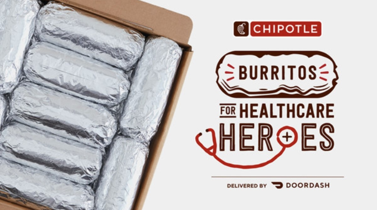 Chipotle's free burritos for healthcare workers