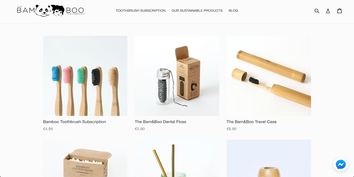 store selling bamboo toothbrushes under your own brand