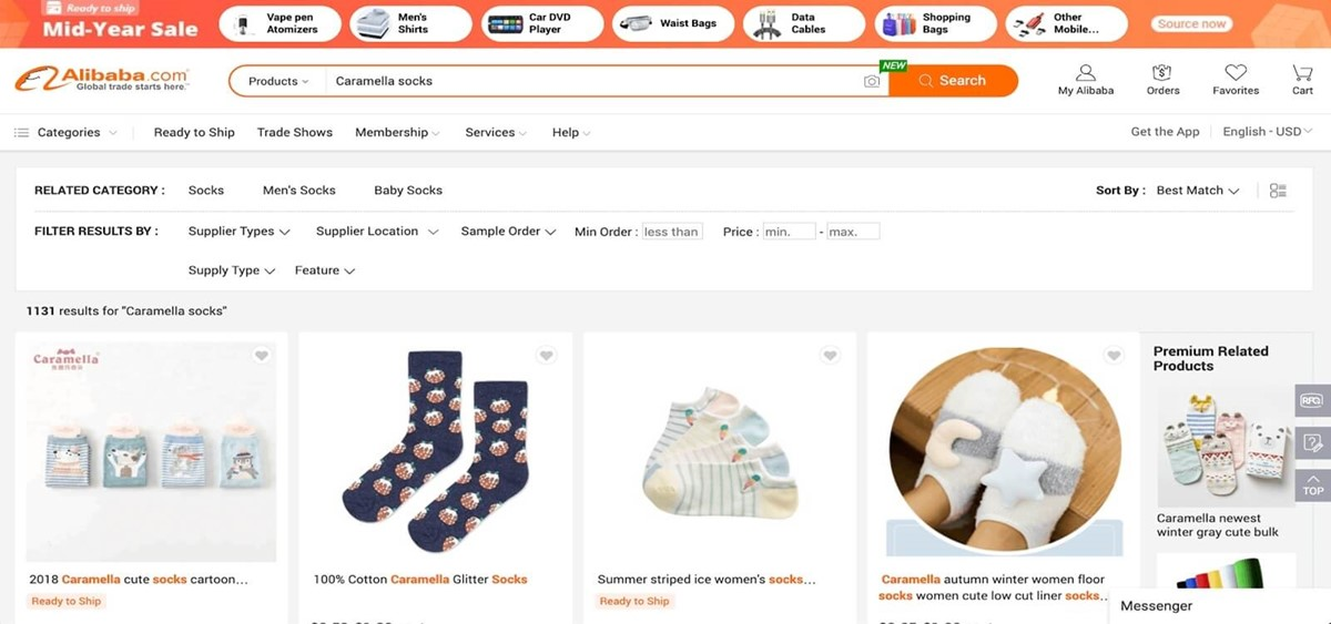 Proven business ideas: Socks stores
