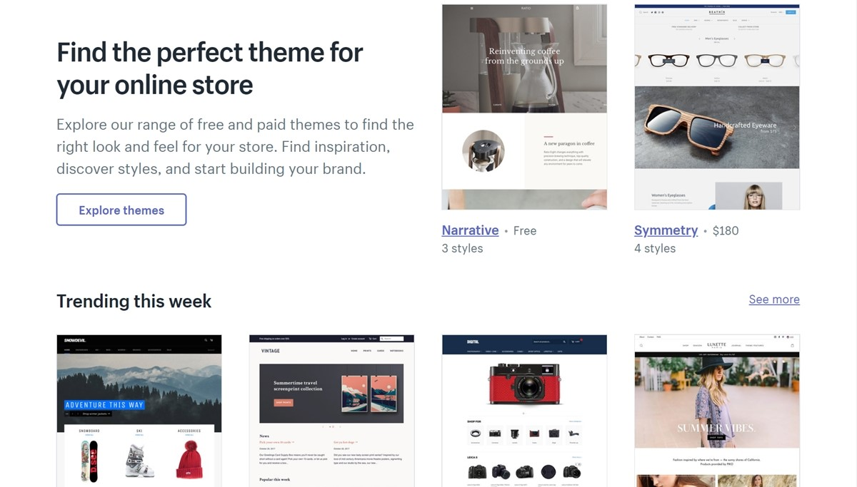 How to change theme in Shopify