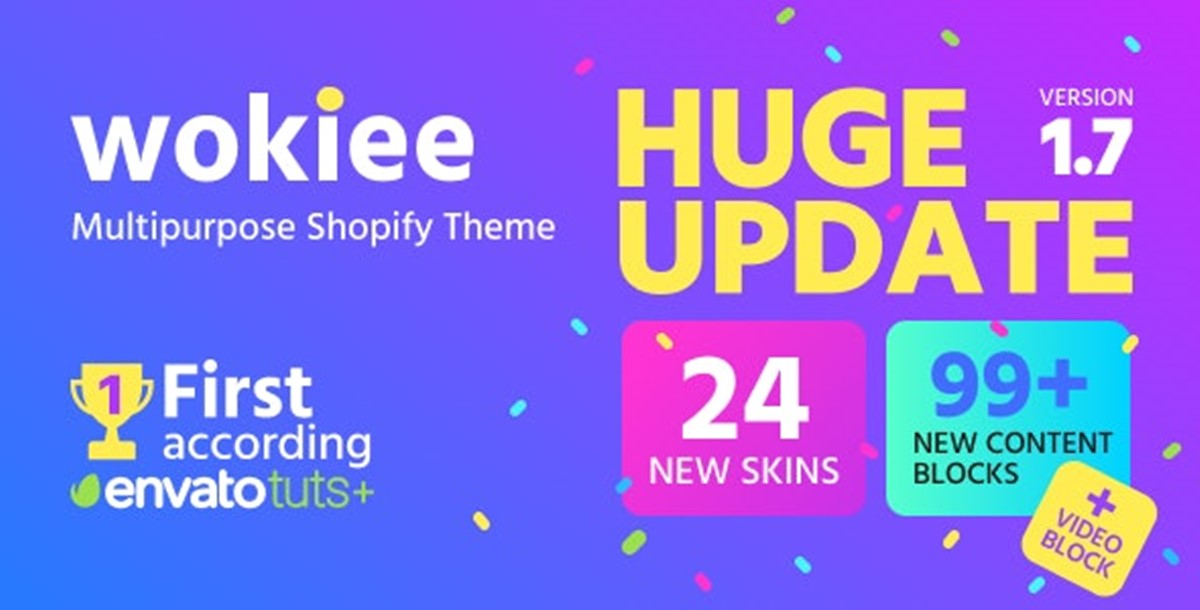 Best Shopify Bootstrap themes Compatible with Bootstrap 4.x: Wokiee theme