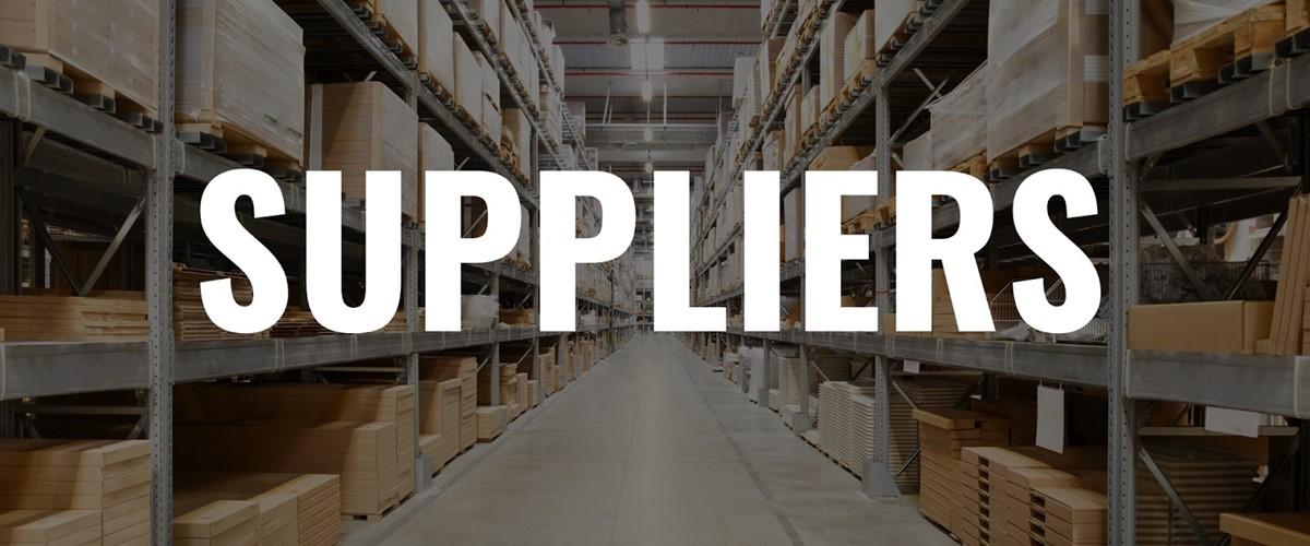 To start your online business, find suppliers to source products