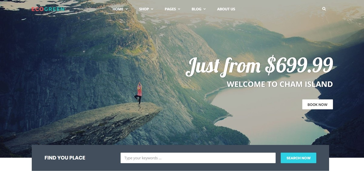 Shopify Travel Themes