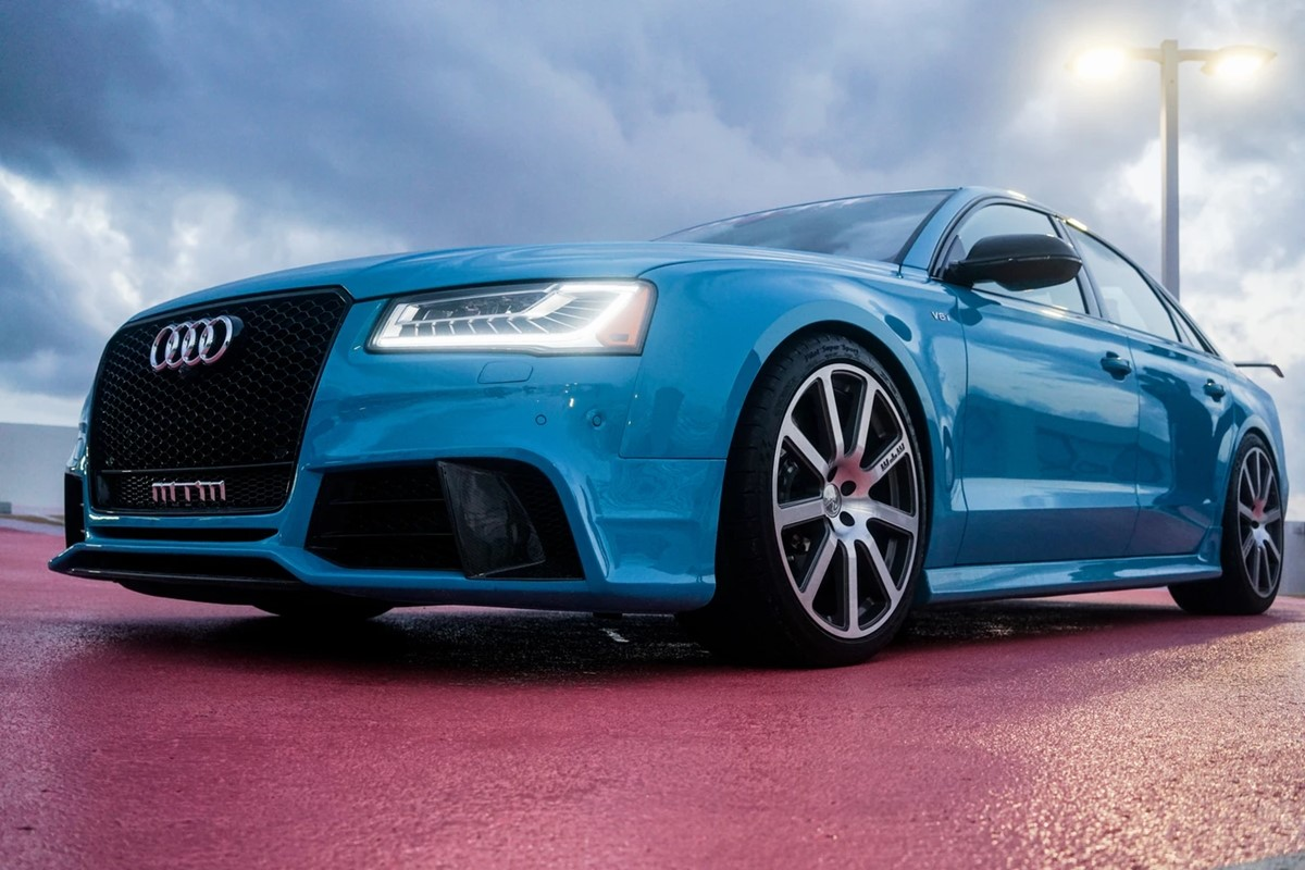 Audi car brand