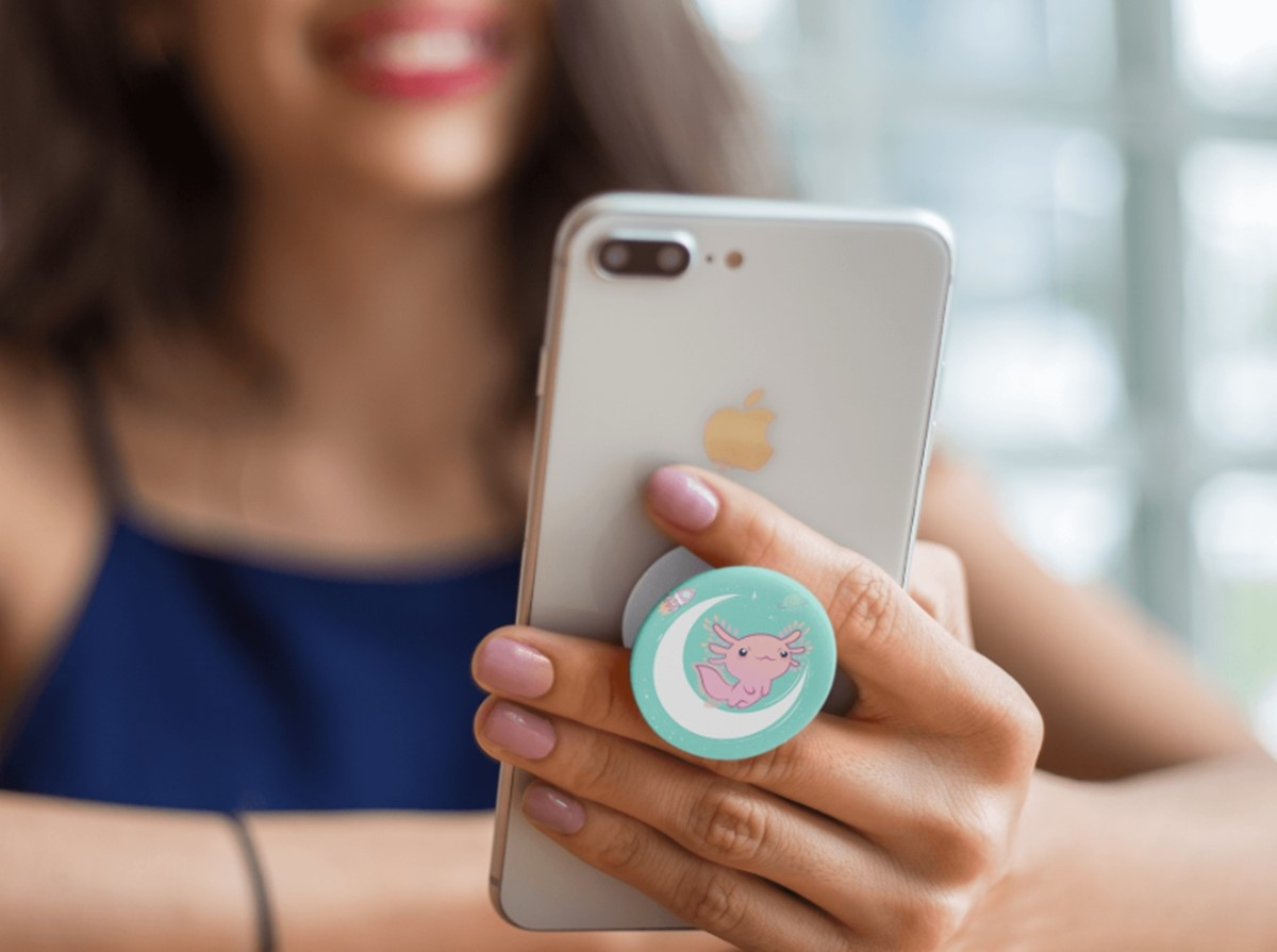 Mobile phone popsocket
