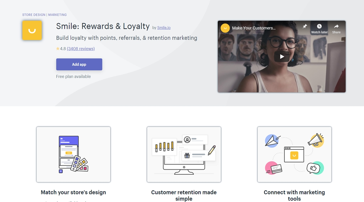 Smile: Rewards & Loyalty by Smile.io