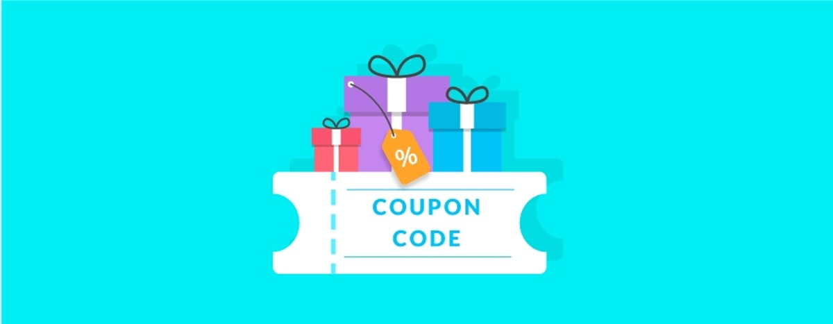 Use Coupon codes