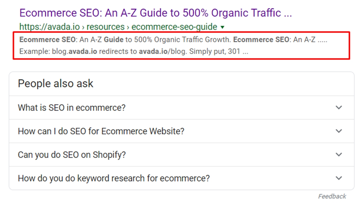 add meta info for SEO in Shopify