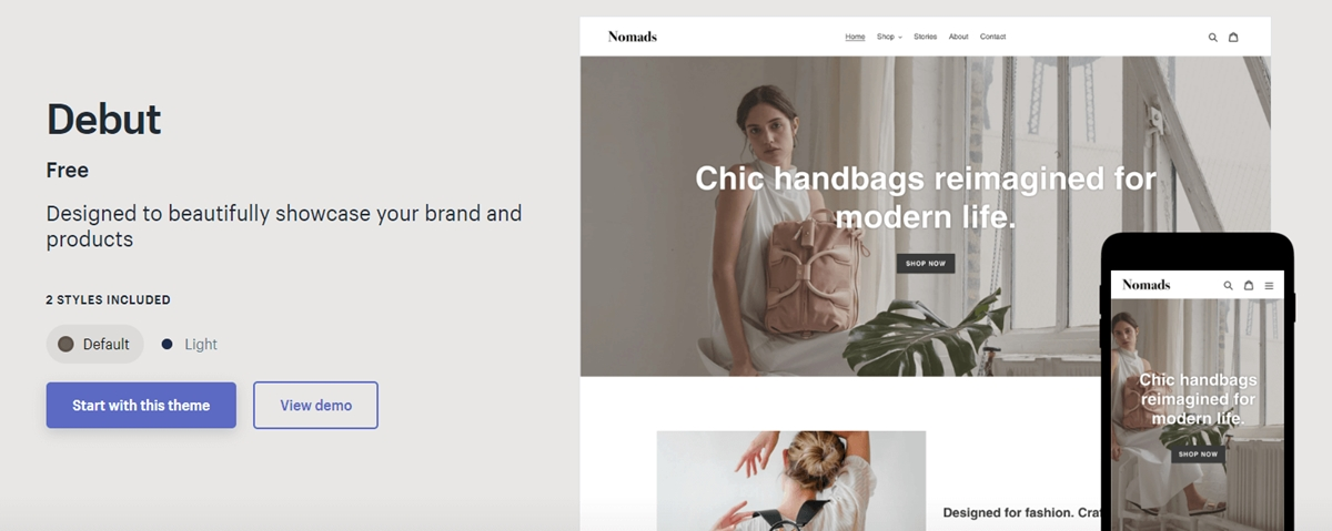 Shopify Debut Theme Review: The right Shopify theme for your stores?
