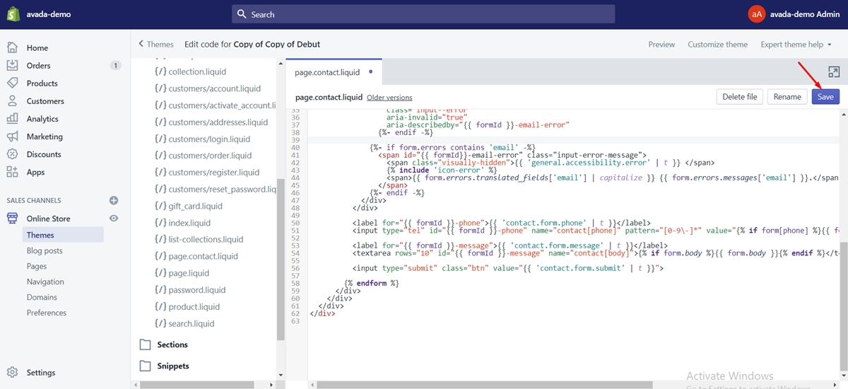 programming language that shopify use4