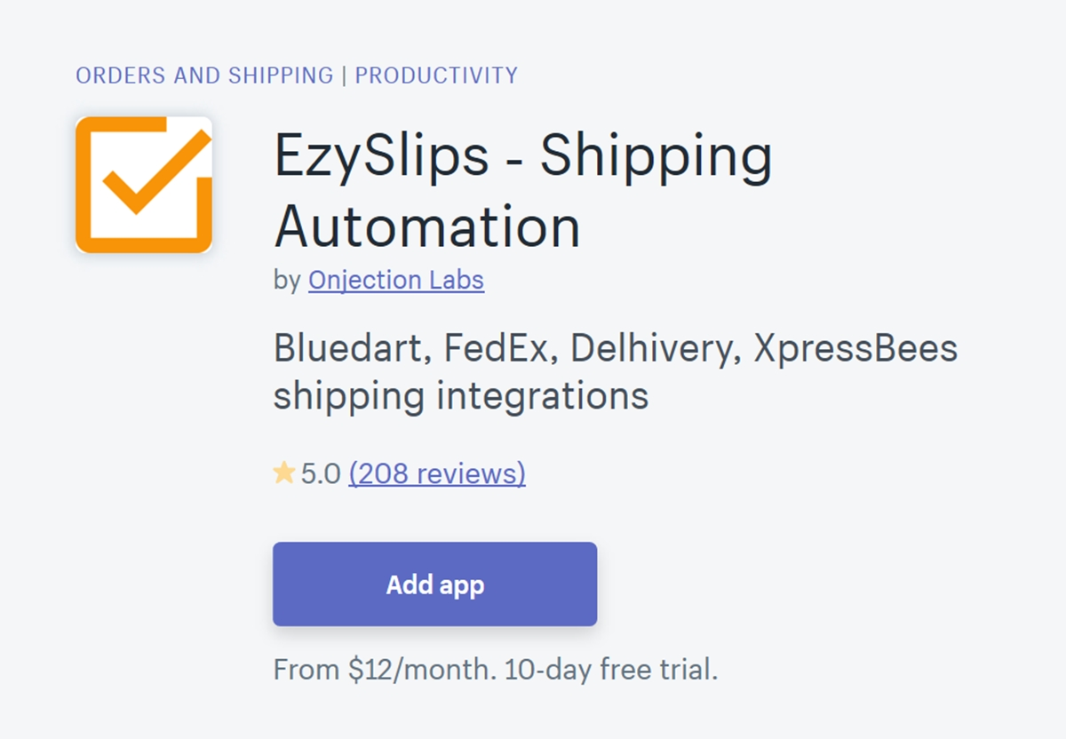 set up international shipping on shopify