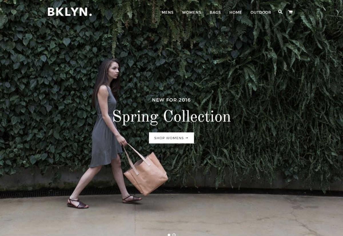 Shopify Brooklyn Theme