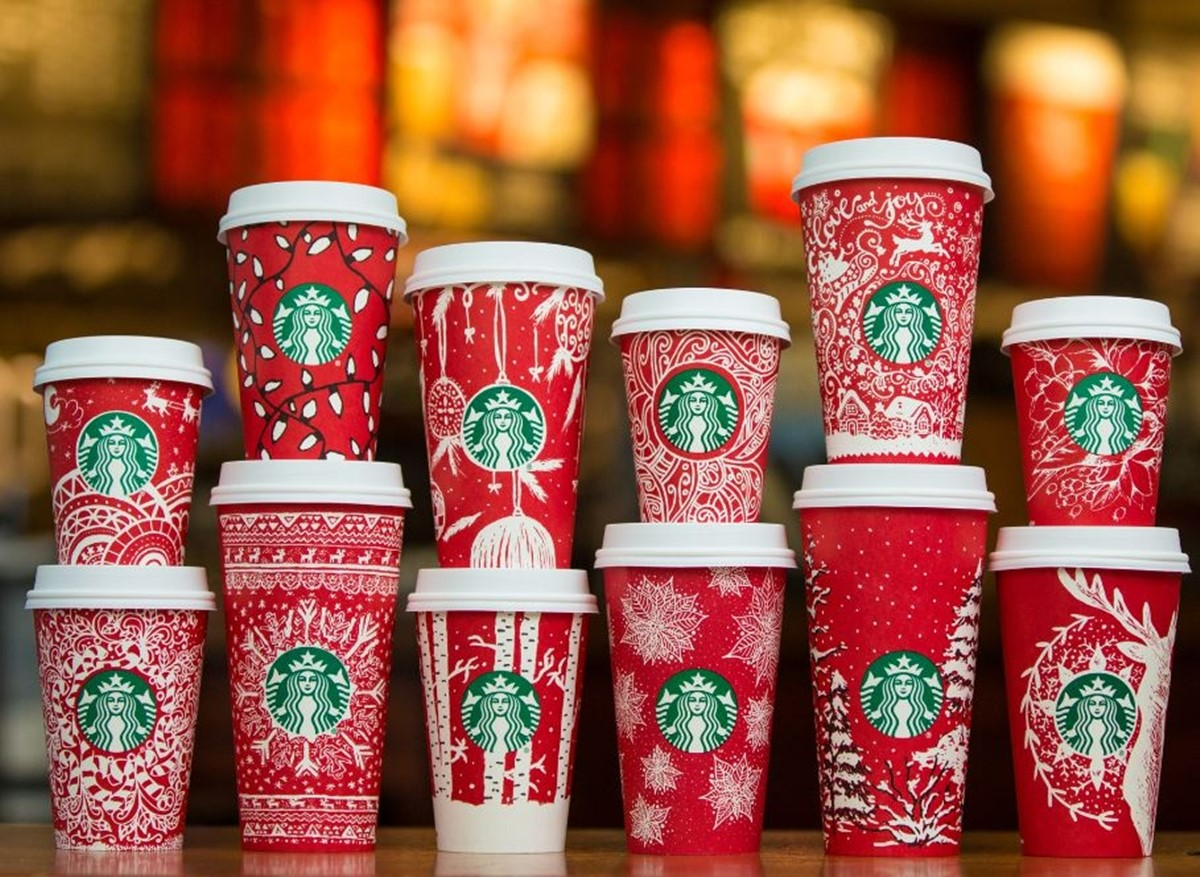 Starbucks Red Christmas Cups