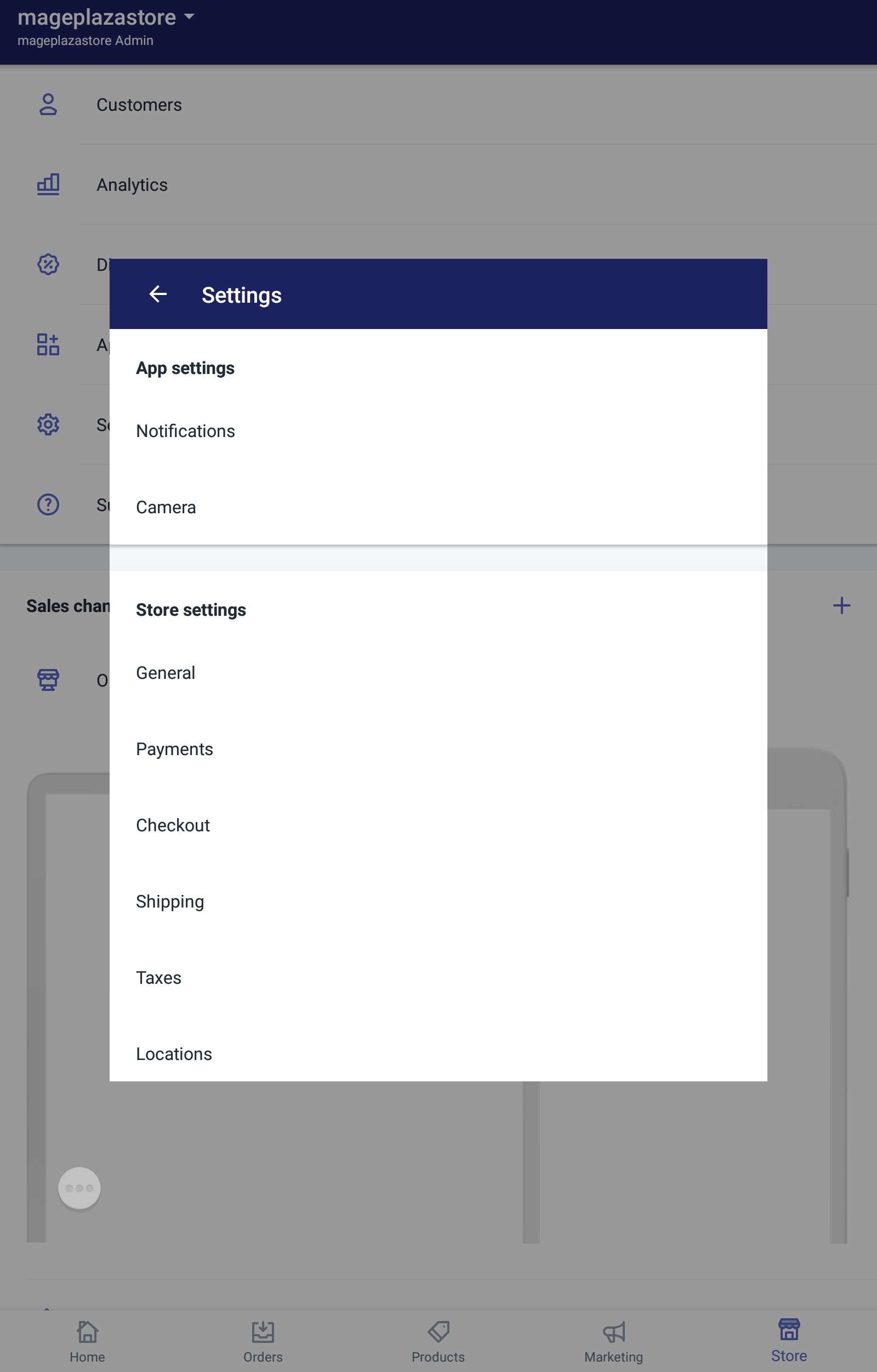 To change the font on the checkout page on Android 2