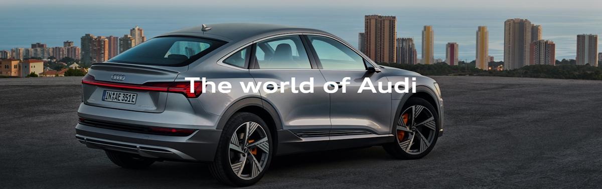 Audi stick to the brand's image