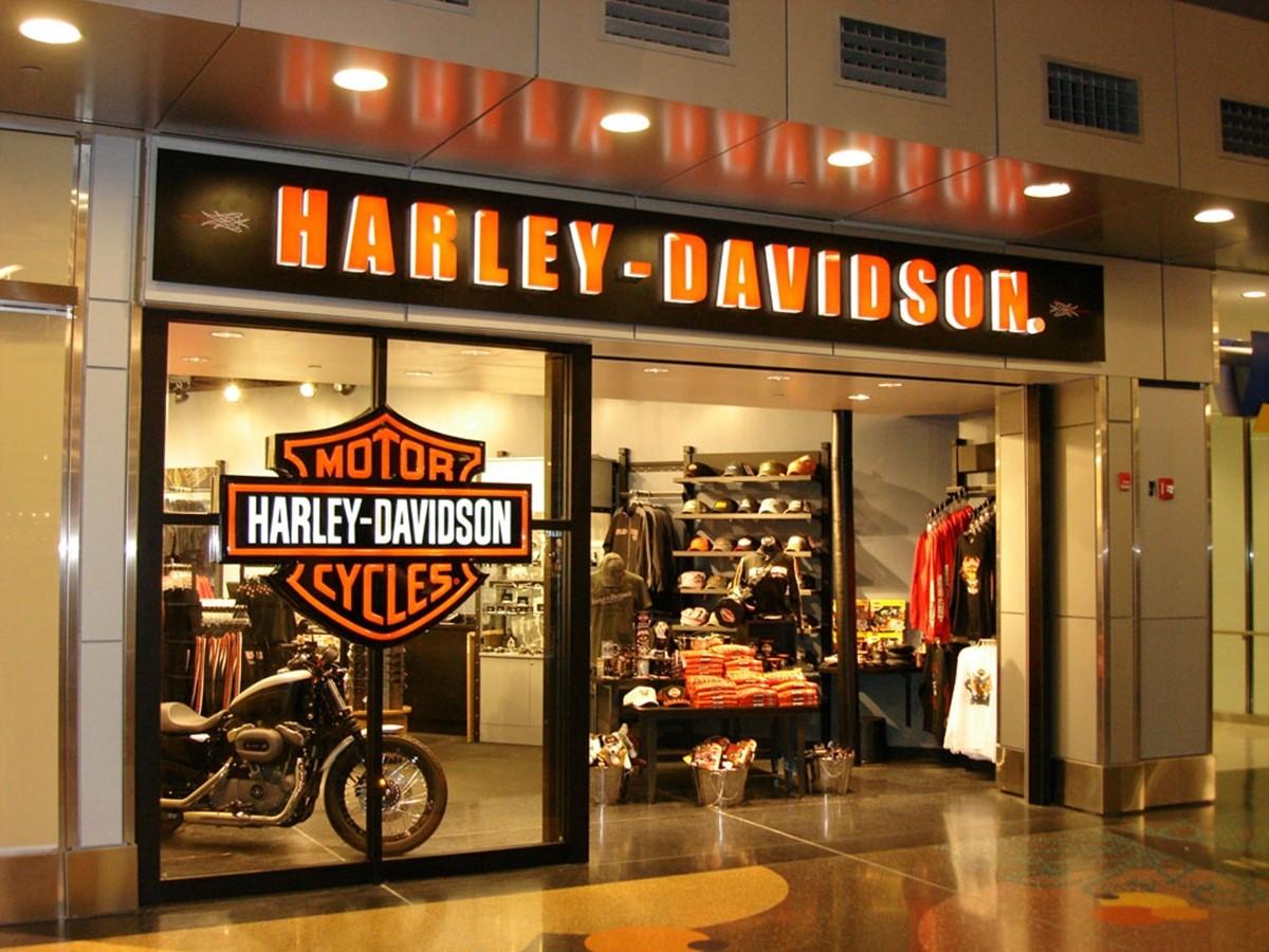 Harley Davidson's store