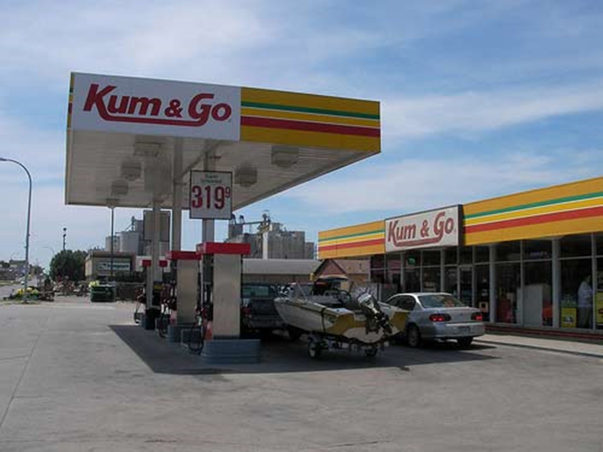 how not to name your brand: kum and go