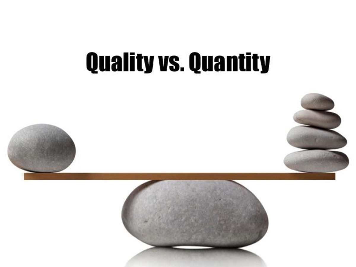 What is more important with Amazon review: Quality or Quantity