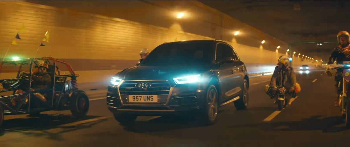 Audi the Clowns campaign