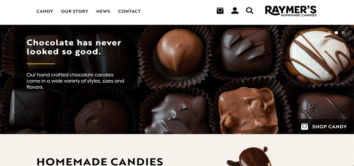 online homemade chocolate stores