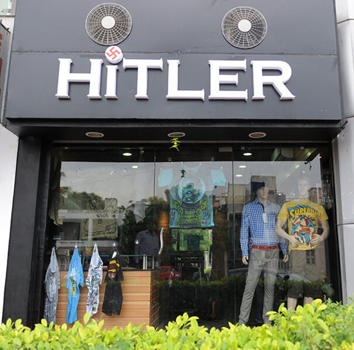 how not to name your brand: hitler shop
