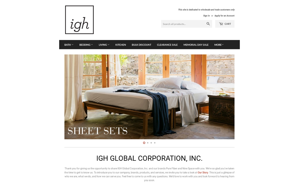 IGH Global Corporation
