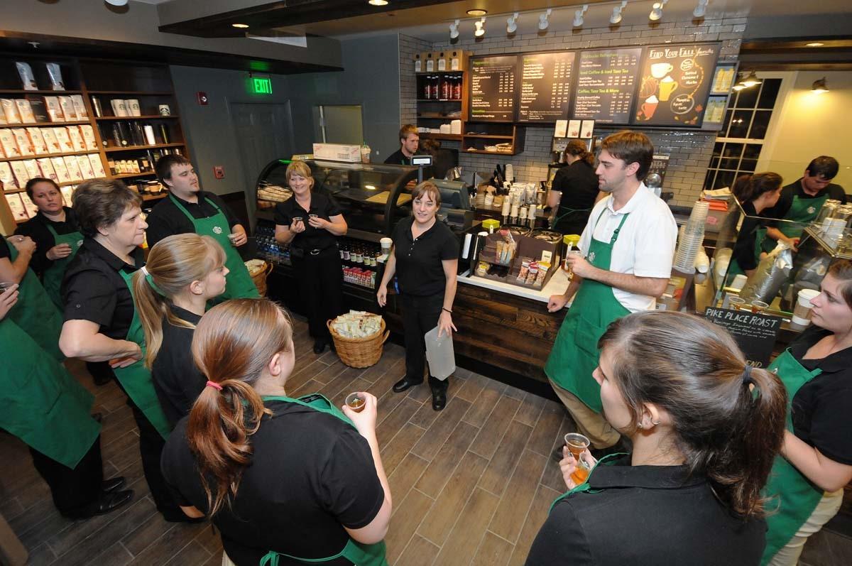 Starbucks training sessions