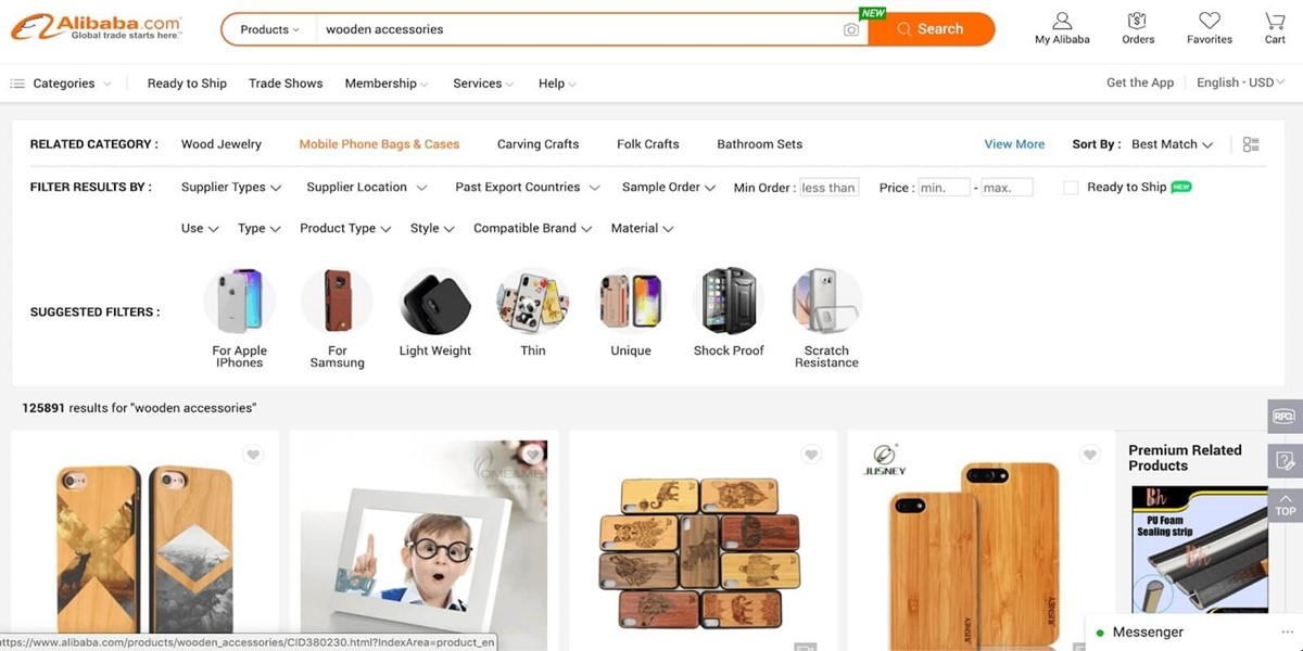 Proven business ideas: Wooden accessories store