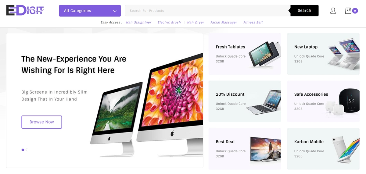Shopify Computer Store Themes