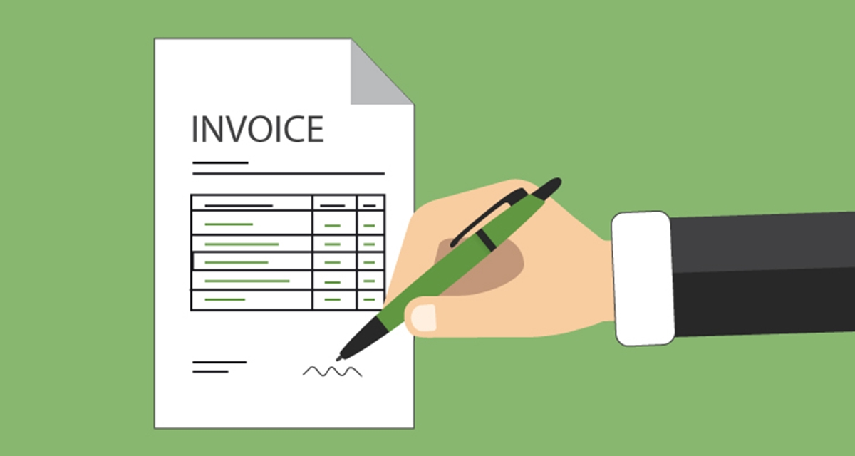What does an invoice include (Image source: Due)